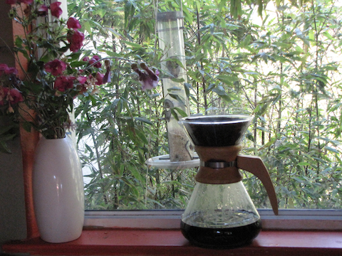 Something nostalgic for me about a Chemex coffee maker